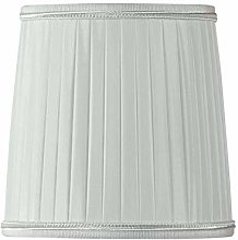 Pleated Lampshade with Flame Clip Diameter 10 x 07
