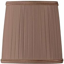 Pleated Lampshade with Flame Clip Diameter 12 x 10
