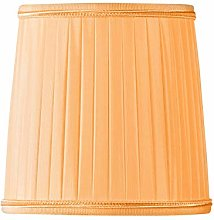 Pleated Lampshade with Flame Clip Diameter 15 x 10