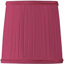 Pleated Lampshade with Flame-Shaped Tongs Diameter