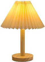 Pleated Table Lamp Table Lamp Bedside Lamp Bedroom