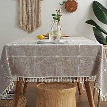 Plenmor Heavy Duty Cotton Linen Tablecloth