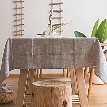 Plenmor Heavy Duty Cotton Linen Tablecloth for