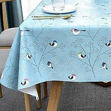 Plenmor Plastic tablecloth for square tables,