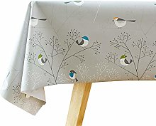 Plenmor PVC Table Cloth Wipeable Plastic