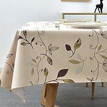 Plenmor PVC Tablecloth Rectangular for Kitchen