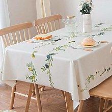Plenmor Table Cloth Wipeable PVC Tablecloth