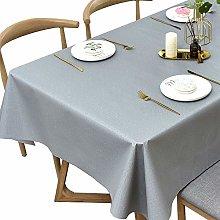 Plenmor Table Cover Wipeable Table Cloth Grey