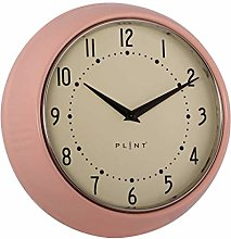 Plint Retro Wall Clock Pink