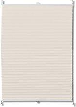 Plisse Blind Cream 100x125cm - Cream - Vidaxl