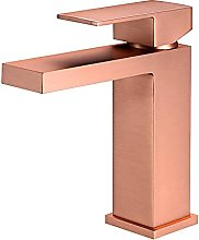PLJHWW Hot and Cold Basin Copper Faucet Nordic
