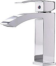 PLJHWW Hot and Cold Basin Full Copper Faucet