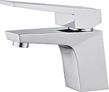 PLJHWW Hot and Cold Basin Full Copper Faucet Hotel