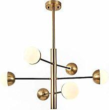 PLLP 6 Light Sputnikchandelier Lighting,Metal Led