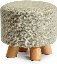 PLLP Bed End Stool,Fashion Solid Wood Shoes