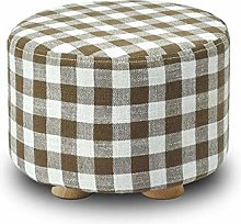 PLLP Bed End Stool,Solid Wood Change Shoes Stool