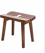 PLLP Bed End Stool,Solid Wood Footstool and