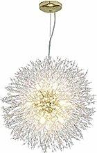 PLLP Chandelier Firework Dandelion Ceiling Light