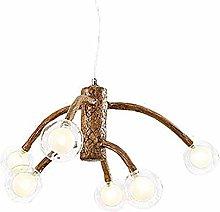 PLLP Chandelier,Retro Branch Chandelier Lighting