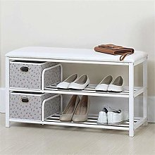 PLLP Change Shoe Bench Shoe Storage Storage Rack