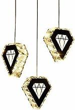 PLLP Crystal Glass Chandelier,Pendant Lighting