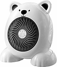 PLLP Home Electric Fan,Mini Electric Heater with