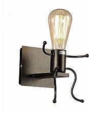 PLLP Industrial Wall Sconce Lighting,Iron Light