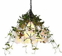 PLLP Lamp Pendant Lights Chandelier Plant