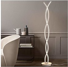 PLLP Novelty Lamps,Floor Lamp Led White Vertical