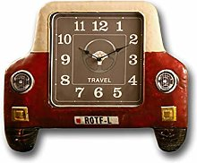 PLLP Novelty Wall Clock,Vintage Wall Clock Bar