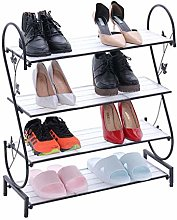 PLLP Shoe Rack Dormitory Saves Space Dustproof