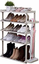 PLLP Shoe Rack Gap Storage Rack Bathroom Slippers