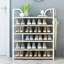 PLLP Shoe Rack Simple Home Dorm Shoe Cabinet Iron