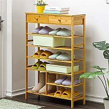 PLLP Shoe Shelf Economical with Drawer Multi-Layer
