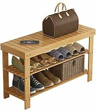 PLLP Shoe Shelf Simple Shoe Change Shoe Stool