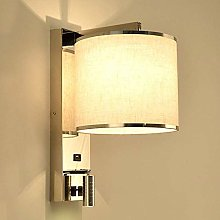 PLLP with USB Charging Port/Bedside Lamp/Hotel