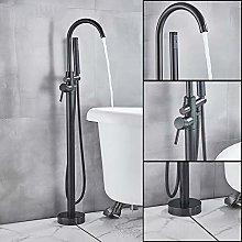 PLUIEX Bathtub faucet Bathroom Free Standing Tub