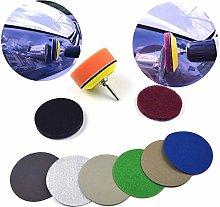 PLUIEX Sandpaper Sandpaper Wheel Kit 3 Inch Car
