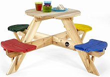 Plum Children's Garden Picnic Table with