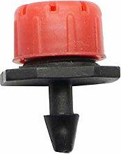 Plumbing Accessories 50 Pcs Adjustable Dripper Red