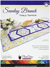 PlumEasy Patterns Sunday Brunch Table Topper