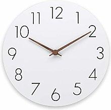 Plumeet 12'' Wooden Wall Clock Frameless