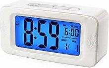 Plumeet Digital Alarm Clock, Light Up All Night,