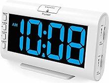 Plumeet Digital Alarm Clocks, 5.3'' Large