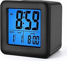 Plumeet Digital Alarm Clocks Travel Clock with