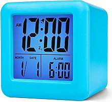 Plumeet Easy Setting Travel Alarm Clock with
