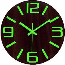 Plumeet Luminous Wall Clocks - 12''