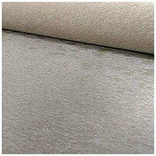 Plush Glitter Wallpaper Taupe A14005 Full Roll -