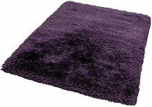 PLUSH - Indoor Rug Long Pile Purple - 70x140 CM -