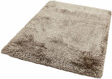 PLUSH - Indoor Rug Long Pile Taupe - 140 x 200 CM